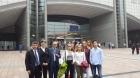 STUDENTI TREVIGIANI AL PARLAMENTO EUROPEO DI BRUXELLES