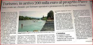 PROGETTO P.I.A.V.E. TURISMO SLOW LUNGO LA LINEA DEL PIAVE