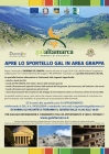 APRE LO SPORTELLO G.A.L. IN AREA GRAPPA