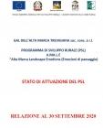 AGGIORNATO LO STATO DI AVANZAMENTO DEL PSL DEL GAL